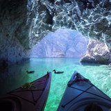 If You Want to Escape Vegas, Paddle Your Way to This Nearby Emerald Cave