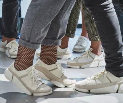 Clarks made futuristic sneakers inspired by the anatomy of feet and they're super comfortable