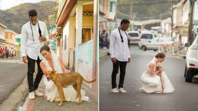 NFL Player And Wife Skip Wedding Gifts And Raise Money For Rescue Animals Instead