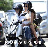 OK, but Amal Clooney Just Made Braided Sandals Look Casual on the Back of a Motorcycle
