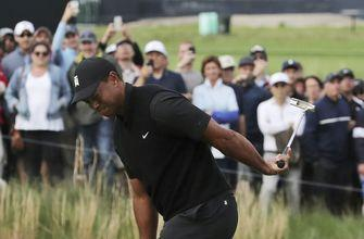 Woods shoots 73, 5 over for 36 holes, misses cut at PGA