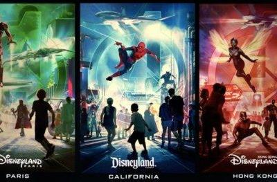 Marvel Land Announced for 3 Disney Parks, Epic New Posters