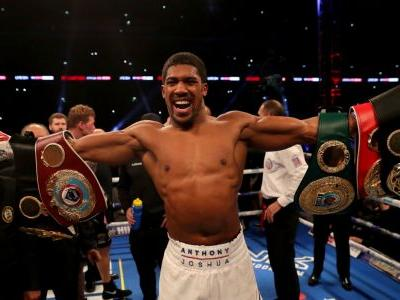 Anthony Joshua delivers emphatic answer to Alexander Povetkin's heavyweight challenge