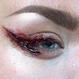 This Trending SFX Bloody Cat-Eye Look Will Make You Cringe Hardcore