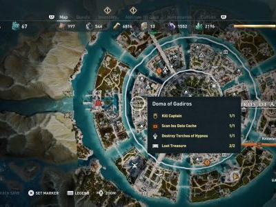 Assassin's Creed Odyssey Isu Knowledge guide - Cache and Codex locations