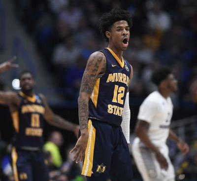 Murray State's Ja Morant posts triple-double in NCAA tourney win