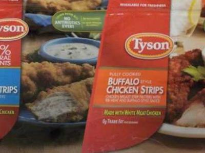 More than 69,000 pounds of chicken strips recalled due to possible metal in product