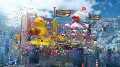 Final Fantasy 15 Releases New Moogle Chocobo Carnival Trailer
