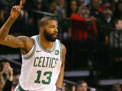 NBA wrap: Marcus Morris, Celtics capitalize on Thunder meltdown; Hawks upset Jazz