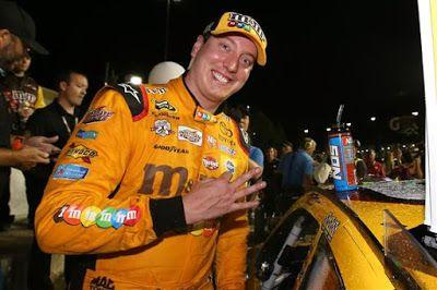 Kyle Busch has four straight top-fives at Kansas