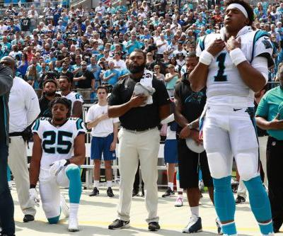 Eric Reid, former LSU safety, kneels before first game with Panthers