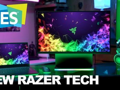 CES 2019: Razer unveils the Raptor Monitor and RTX Powered Blades