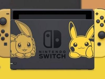 Where to buy a Pokémon: Let's Go! limited edition Switch