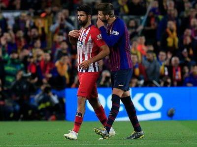 Gerard Pique reveals what he said to Diego Costa after red card