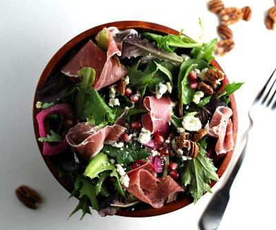 Prosciutto Salad and a Rosemary Vinaigrette