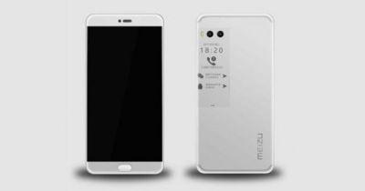 Meizu Pro 7 could have a second display on its back