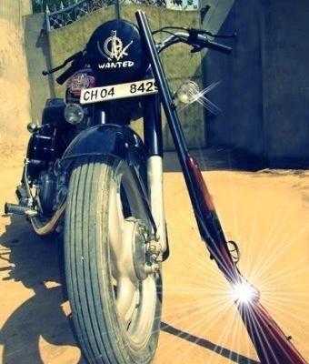 Why does Punjabis love Royal Enfield?