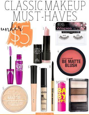 10 Classic Makeup Must Haves Under $5