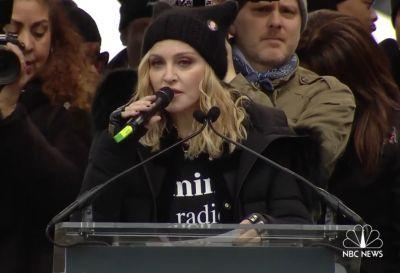Watch Madonna Express Herself At The Women's March On Washington