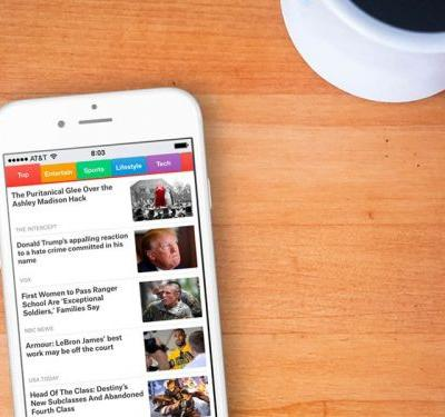This free news app lets you read stories from more than 300 trusted sites - even when you don't have an internet connection