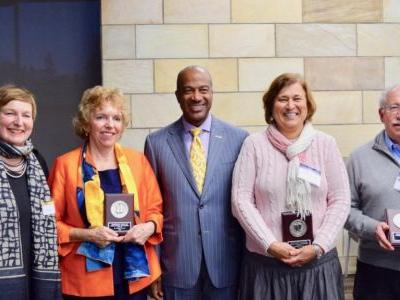 Rosalind Christian Receives Chancellor's Award for International Engagement