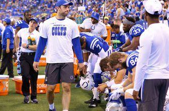 Colts rule Luck out of Browns game, still not cleared to practice
