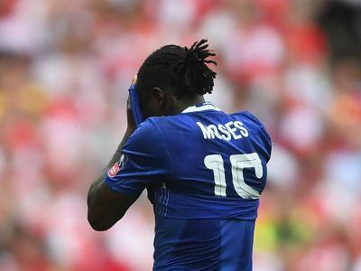 Conte defends Moses after FA Cup final dive: He was tired!