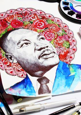 In honor of martin luther king jr