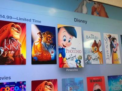 Disney Plus to include 'entire Disney motion picture library' as it looks to compete with Apple