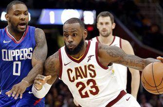 LeBron's 39 points lead Cavs to 118-113 OT win over Clippers