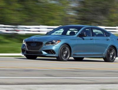 2018 Genesis G80 Sport RWD Test: A Solid Step, but Not Terribly Sporty