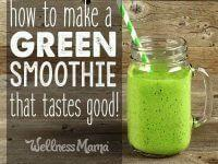 Refreshing Cucumber Lime Veggie Green Smoothie Recipe