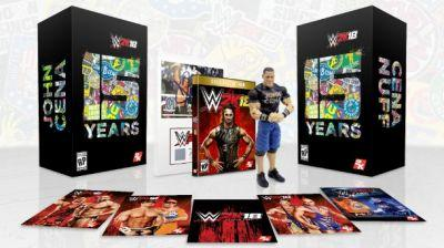 John Cena Takes Over For WWE 2K18 Special Edition