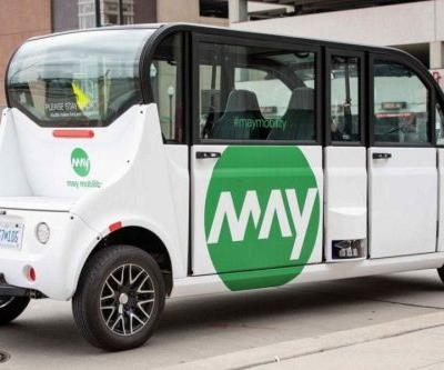 May Mobility and Bedrock Deploy Driverless Shuttles in Detroit
