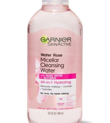 Everything's Coming Up Roses for Garnier's New Skincare Line
