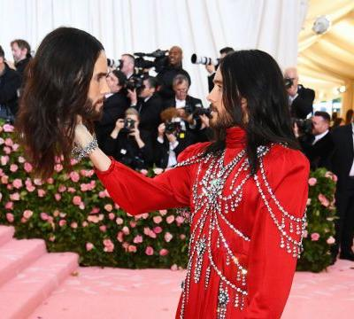 Jared Leto Carried a Personalized Dismembered Gucci Head to the Met Gala