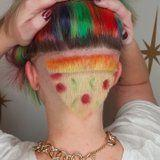 "This Undercut ""Pizza"" Hairstyle Will Make You Seriously Hungry"