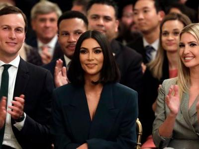 Kim Kardashian West went to the White House to announce more criminal justice reforms alongside Trump
