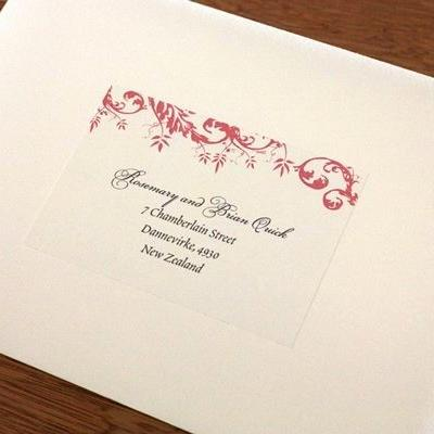 30 Unique Wedding Invitation Address Labels Template Graphics