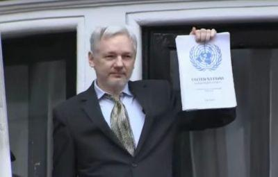 Julian Assange Tweets Out Victory Glamour Shot After Rape Charges Dropped