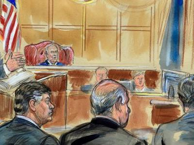 While Paul Manafort stared down his former protégé, Rick Gates didn't look at Manafort the entire time he testified against him