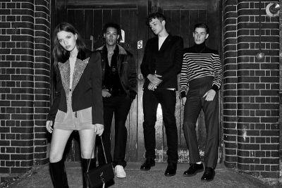 Club Queues Get Glamorized in Our Saint Laurent 2017 Fall Editorial