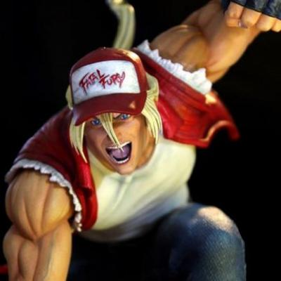 You could burn 700 bucks on this Terry Bogard statue