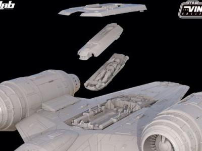 Star Wars HasLab Razor Crest is Fully Funded, Stretch Goal Announced