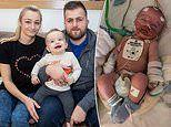 Family of sick baby who suffered a cardiac arrest in his sleep are trying to raise £120,000