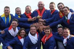 In photos: Team Europe wins golf's Ryder Cup