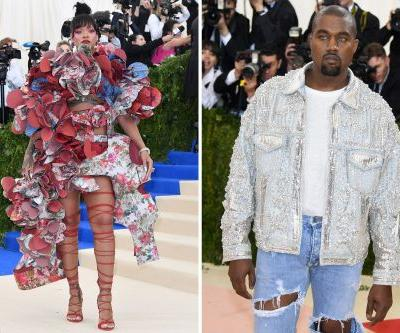 Kanye's 'crazy eyes' was one of the wildest Met Gala looks