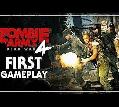 Zombie Army 4: Dead War Gameplay Revealed at E3 2019