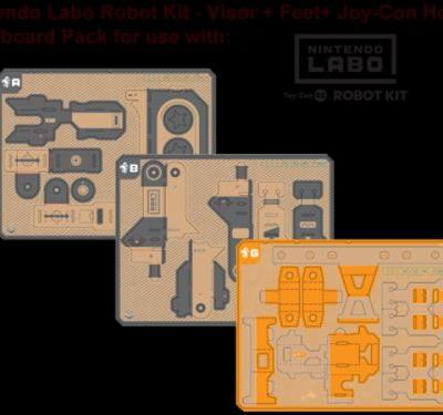 Nintendo Labo - replacement parts now available to purchase, pricing revealed