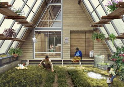 Sustainability and Productivity Meet in this Rural Colombian House